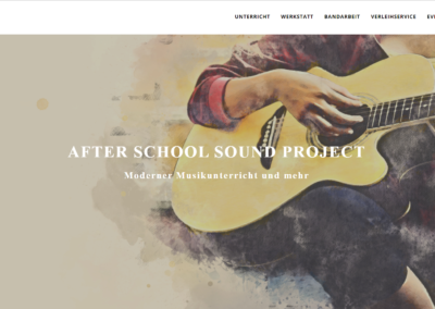 After School Sound Project